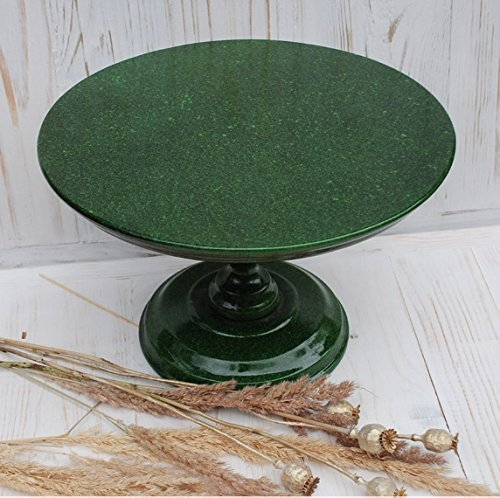 Amazon Com New Design 12 Inches Cake Stand Green Cake Stand