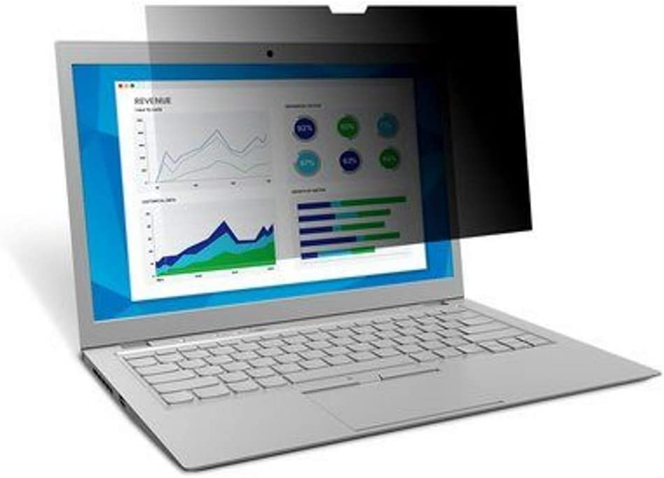 3M Privacy Filter for Dell XPS 13 2-in-1 Model 7390 with Comply Attchment System, Touch optimised