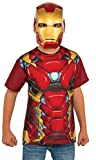 Rubie's Costume Captain America: Civil War Iron Man Child Top and Mask, Large