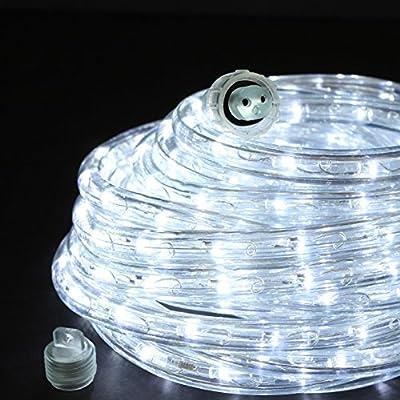 Direct-Lighting GRL-24-CW Cool White 24ft LED Rope Light