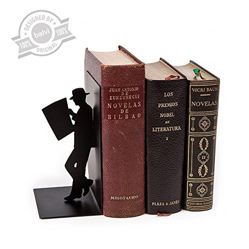 34 opinioni per Balvi - The Reader fermalibri decorativo in metallo di colore nero. Design orig