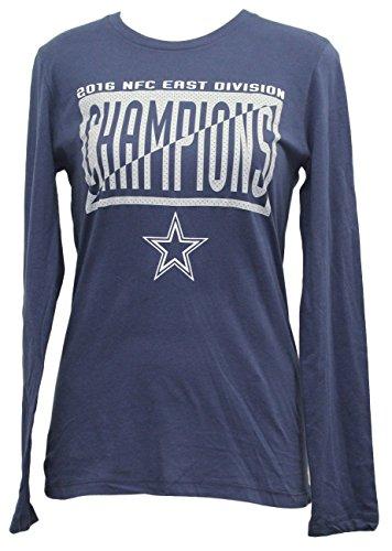 Majestic Dallas Cowboys NFL Women's 2016 NFC East Division Champions L/S T-Shirt