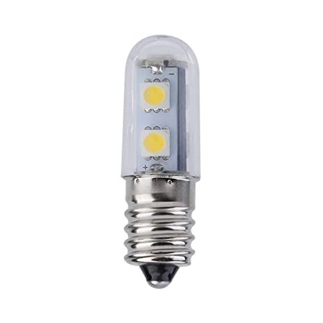Mini E14 1W 7 LED 5050 SMD Nature/Warm White Light para la máquina de