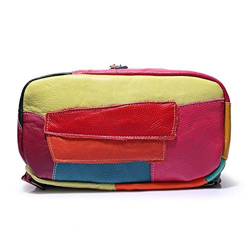 L'école Voyage à Multicolore à Bandoulière à De Fourre à Sac Sac tout Sac Sac Main Main Sac Messenger Bandoulière Femmes Shopper Des 1UWH7vw