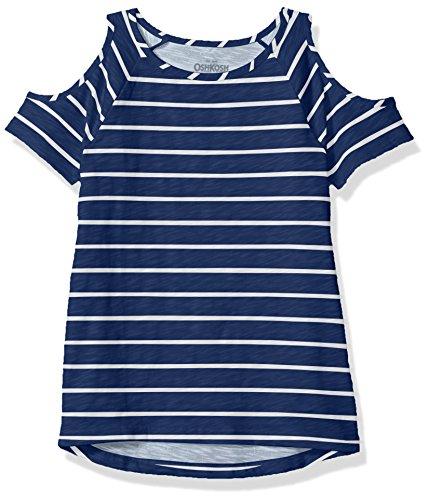Price comparison product image Osh Kosh Girls' Kids Fashion Tops,  Blue Stripe,  7