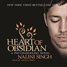 Heart of Obsidian: Psy-Changeling, Book 12 Audiobook by Nalini Singh Narrated by Angela Dawe