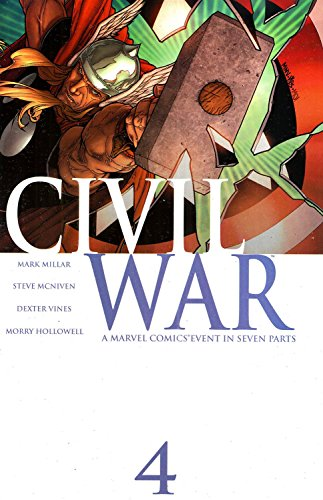 Civil War #4 (Marvel Comics) Civil War Fantastic Four