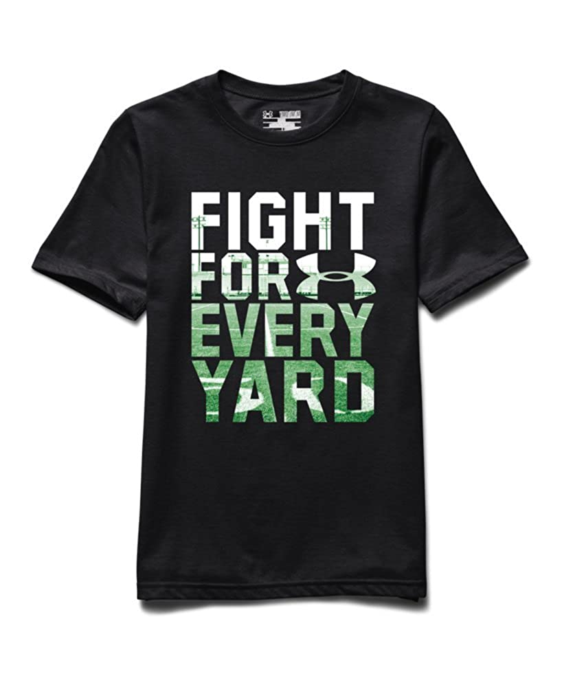 Toddler Boys Black 5 Under Armour Fight for Every Yard T-Shirt