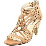 inc international concepts heels - INC International Concepts Womens Garoldd Open Toe Ankle Strap, Honey, Size 9.5