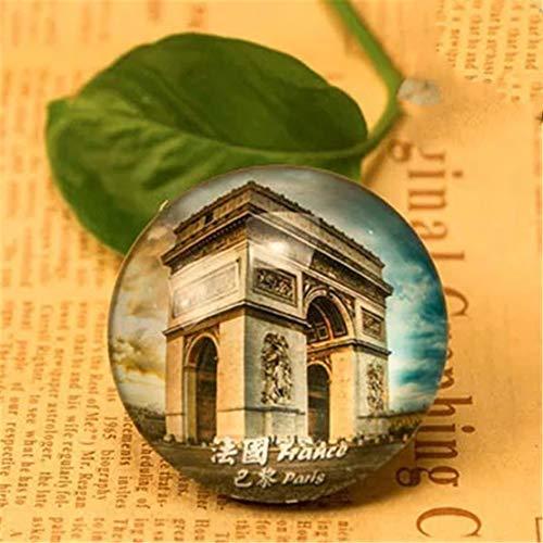 Arc de Triomphe París Francia Refrigerador Imán de Nevera Ciudad ...