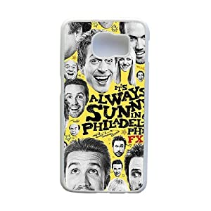 It'S Always Sunny In Philadelphia Poster Phone Cover Case For Samsung Galaxy S6 Cell Phone White CGD181118
