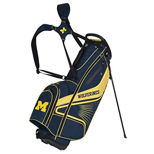 Team Effort Michigan Wolverines Gridiron III Stand Bag ()