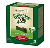 Greenies Lite Tub-Pak Treat for Dogs, 27-Ounce, Regular, My Pet Supplies