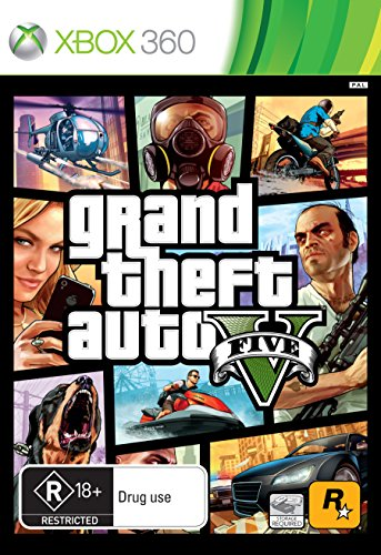 Grand Theft Auto 5 - 360 (Heist Games For Xbox 360)