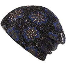 Vertily Retro Muslim Stretch Women's Turban Headwrap, Liner for Cancer Hair Loss