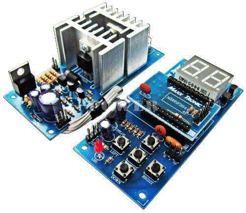 DC Motor Speed Control HHO PWM 12V/24V 30A Digital Version Electronic Circuit Board Kit : MXA087