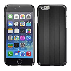 LECELL -- Funda protectora / Cubierta / Piel For Apple iPhone 6 -- Gray wood --