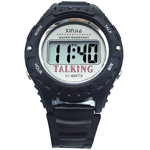 Spanish Talking Watch for The Blind and Elderly Digital Sport Wrist Watch