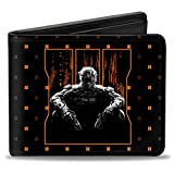 Buckle-Down Men's Wallet Call Of Duty-black Ops Iii/soldier Logo/trey Monogram Accessory, -Multi, One Size