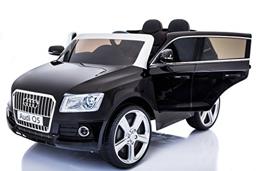 Electric cAr 2 SEATER AUDI Q5 black style. Сar for KIDS to ride. Ride on car 3 to (Sit In Remote Control Car)