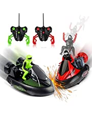 Remote Control Car Bump 'n Eject Bumper Cars 2 Sets Good for Twins Kids and Parents. (Twin Pack)