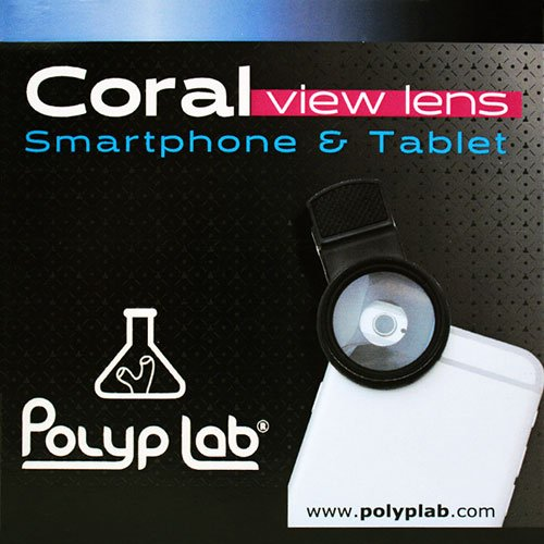 Polyp Lab Coral View Lens (Original Version) by Polyplab