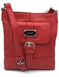 Nine West Rocky Crossbody Handbag Purse - Red