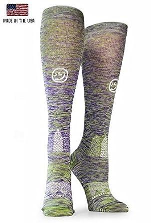 354c8ee6cf Amazon.com: Crazy Compression Twist OTC Compression Socks: Clothing