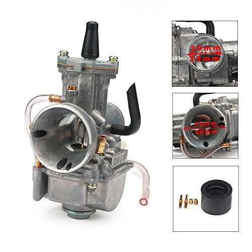 JFG Racing OEM OKO Pwk Power Jet para carburador Carb universal para Racing ATV Quad Go Kart Dirt Pit Bike Motorcycle...