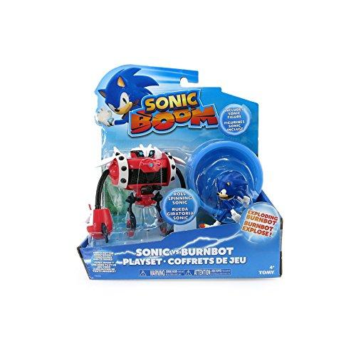 Sonic - Playset de batalla, color azul (Bizak 30692213)