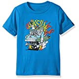 Quiksilver Big Boys' Short Sleeve Graphic Tee, Muscle up Boy Imperial Blue, 4