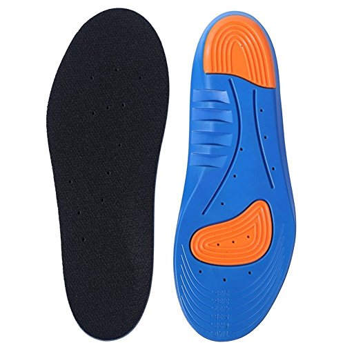 Sports Shoe Insoles, Samxu Breathable Arch support Foot Pressure Relief,...