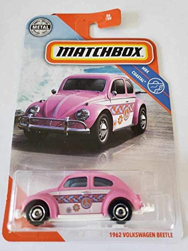 MATCHBOX MBX COASTAL 1962 VOLKWAGEN BEETLE in HERITAGE BOX or POWER GRAB