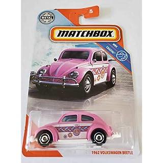 Matchbox 2020 MBX Coastal 1962 Volkswagen Beetle, Pink 86/100