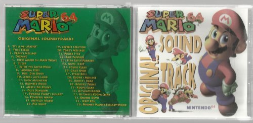 Super Mario 64 Original Soundtrack (1997-08-02)