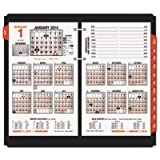 AT-A-GLANCE E71250 Burkhart's Day Counter Desk Calendar Refill, 4 1/2 x 7 3/8, White, 2016