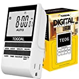 Programmable Digital Light Timer Plug with Dual