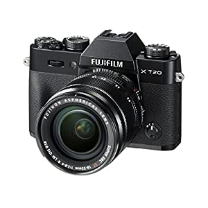 Fujifilm X-T20 Mirrorless Digital Camera W/Xf18-55Mmf2.8-4.0 R Lm OIS Lens (Black)