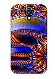 Frank J. Underwood's Shop New Fractal Tpu Case Cover, Anti-scratch Phone Case For Galaxy S4