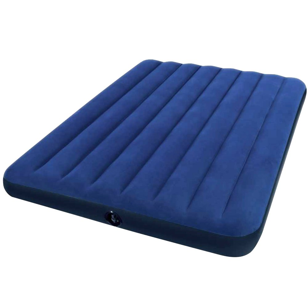 Inflatable Bed Netherlands: Full Size Air Mattress Raised Downy Airbed Bed Inflatable