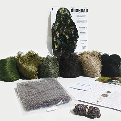 Bushrag Ghillie Suit Kit Woodland