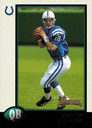 1998 Bowman Football #1 Peyton Manning Rookie Card