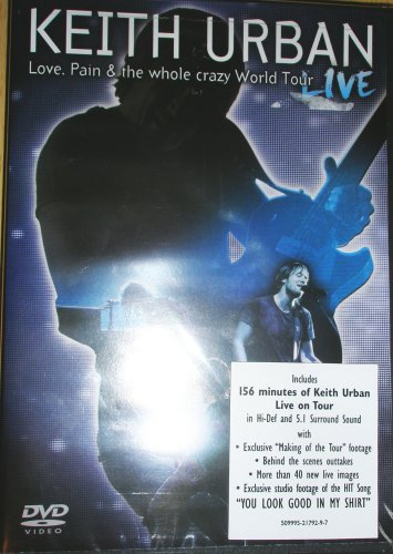 Keith Urban: Love, Pain & the Whole Crazy World Tour - Live (Spring Marketplace Valley)