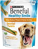 Purina Beneful Healthy Smile Dental Twists Peanut Butter With Real Parsley Adult Dog Treats – 7 Ct. Pouch Review