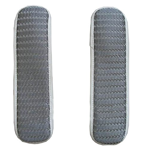 [Stripe Gray] Soft Chair Armrest Covers Armrest Pads for Chair by Black Temptation