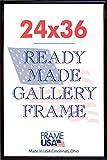 Deluxe Poster Frame, 24 x 36'', Black  11567