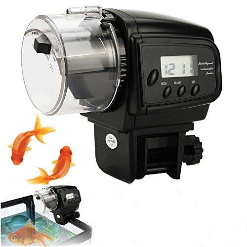 Automatic Feeding Adjustable Aquarium Timer Auto Fish Tank Pond Food - Glass Buy Canada Google