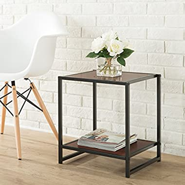 Zinus Modern Studio Collection 15 Inch Square Side Table/ End Table/ Coffee Table
