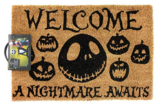 Official Nightmare Before Christmas Nightmare Awaits Door