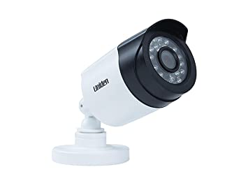 Uniden G610BC 1080p Bullet Wired Video Camera White, 100' Night Vision, on